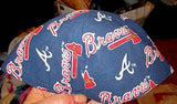 Atlanta Braves yarmulke