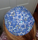 cotton yarmulke
