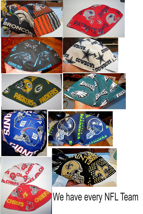 NFL regular kippah or yarmulke