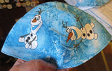 Disney TV and Movie characters kippah or yarmulke Olaf from Frozen