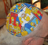 Disney TV and Movie characters kippah or yarmulke The Simpsons Family