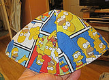 Simpson family cartoon kippah