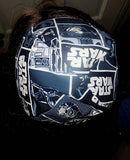 Star Wars kippah or yarmulke, many great Star Wars movies and characters