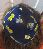 University of Michigan kippah