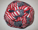 USA flags skullcap