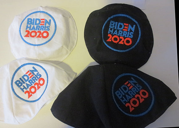 Biden Harris 2020 embroidered kippah two styles