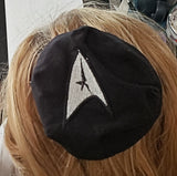 Star Trek Command badge kippah embroidered
