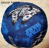Saucer kippah reversible select pattern both sides Star Wars