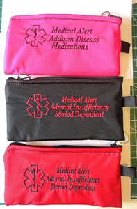 addisons disease medications carrier