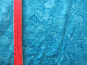 Batik turquoise rock candy by Wilmington batiks gorgeous fabric with lots of feathering by the half yard