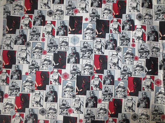 Star Wars Kylo Ren cotton fabric Ben Solo The Force Awakens