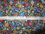 Variety of Buttons cotton fabric vintage antique collectibles button lovers bhy