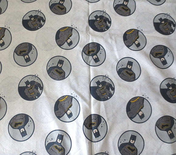 Batman cotton fabric Justice League superhero by the half yard DC Comics