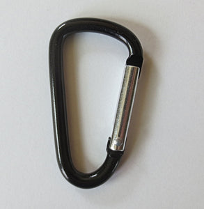 Carabiner to add to Epi Pen case, zippered pouches