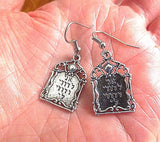 Everyday Judaica and Shabbat silver earrings