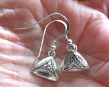 Purim Earrings Groggers and Hamentaschen