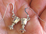 Kiddush cup earrings