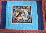 Owl themed reversible placemats set of 4 insulated mats owl lovers