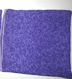Purple flowers calicos reversible insulated place mats