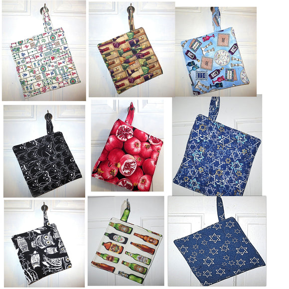 insul brite pot holders handmade