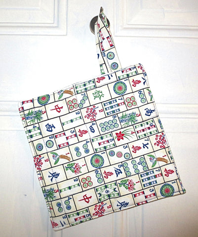 Mahjongg insulated insul brite pot holder