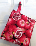 pomegranates insulated pot holder