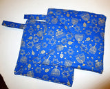 Hanukkah pot holders or trivets thick double insulated handmade Chanukah useful decorations