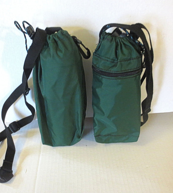 adjustable strap water bottle bag