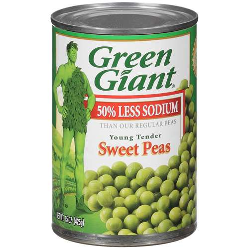 Small Peas - Canned 398mL