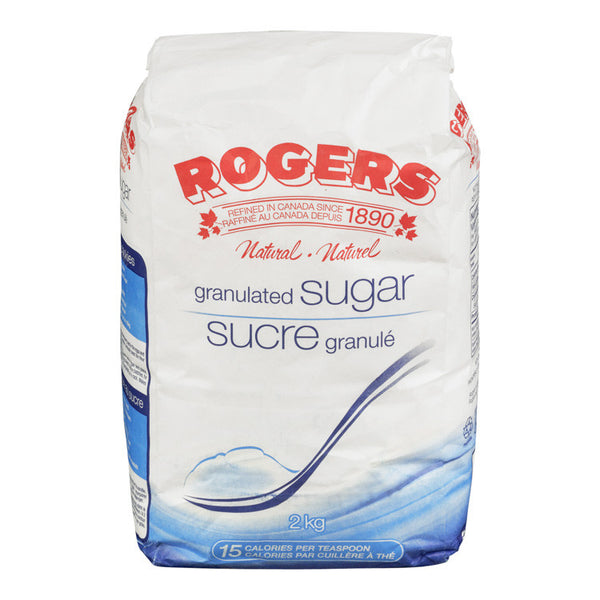 Rogers Fine Granulated Sugar - 2Kg