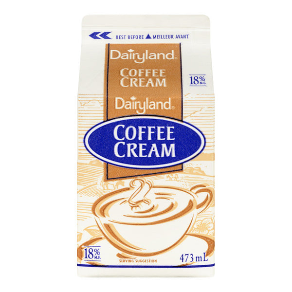 Dairyland Coffee Cream - 473mL