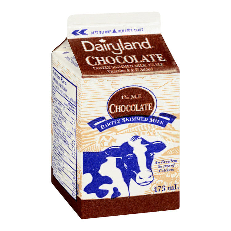 Dairyland Chocolate Milk - 473mL
