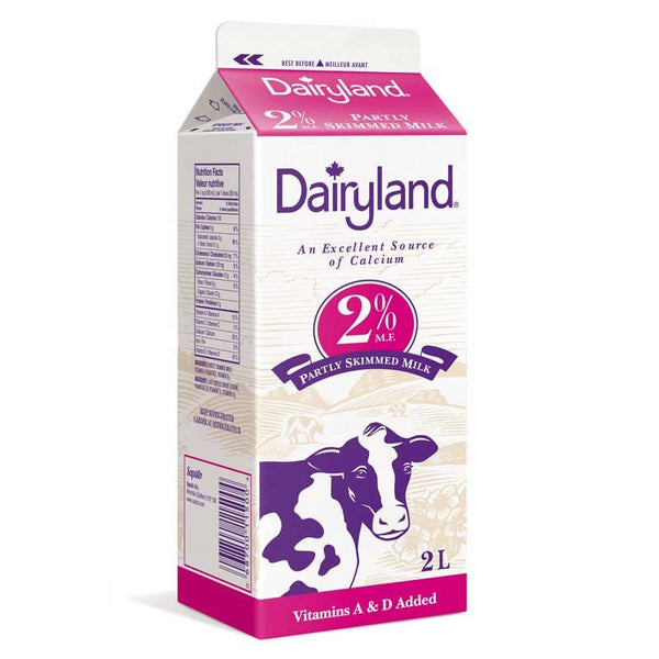 Dairyland 2% Milk - 2L