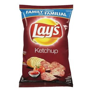 Lays Ketchup Chips - 255g Bag