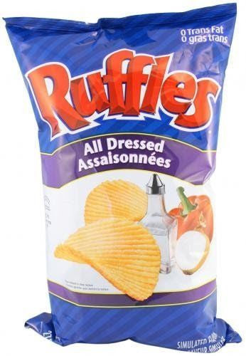 Ruffles All Dressed Chips - 245g