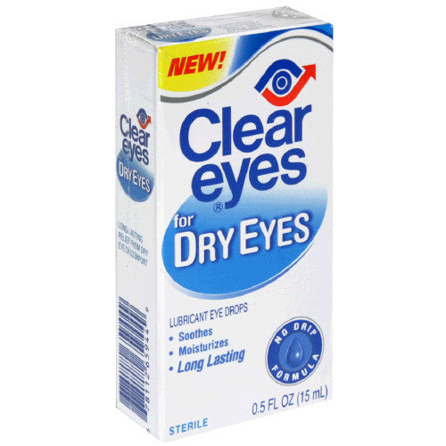 Clear Eyes for Dry Eyes
