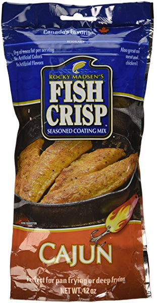 RM Fish Crisp Roasted Garlic and Butter - 340g