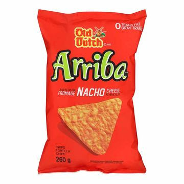 Old Dutch Arriba Nacho Cheese - 260g Bag