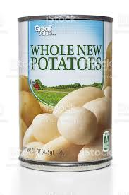 Whole Potatoes - Canned - 540mL