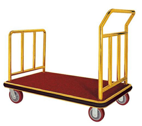 LUGGAGE TROLLY FLAT (Stainless Steel)