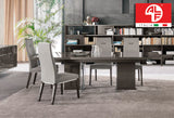 ATHENA Dining Table - LONG (Extend 1.95m to 2.5m) and 10pcs Dining Chair Set - ALF® ITALIA