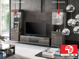ATHENA TV Curio Cabinet (Left or Right Side) - ALF® ITALIA