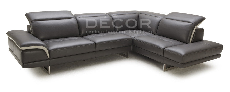 BARBOSA L-Shape Leather Sofa – décor manila