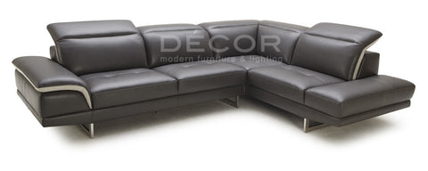 BARBOSA L-Shape Leather Sofa