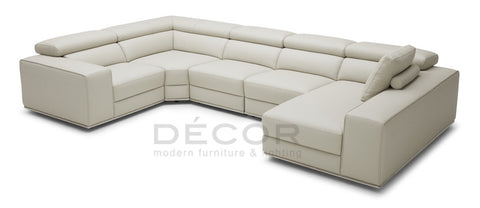COLLINGWOOD Sectional Leather Sofa