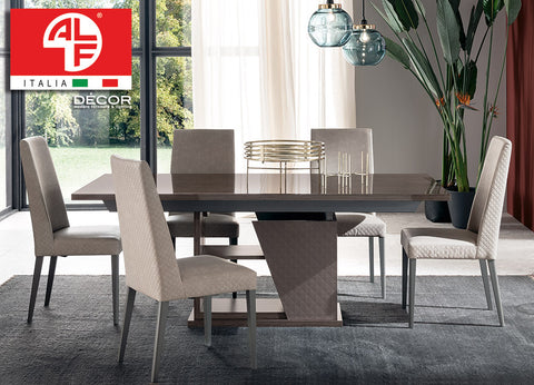 FRIDA Dining Table - (Extend 1.96m to 2.5m) and 6 Dining Chair Set - ALF® ITALIA