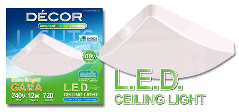 GAMA L.E.D. Ceiling Light