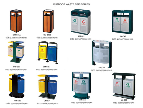 Outdoor Garbage Bins 2