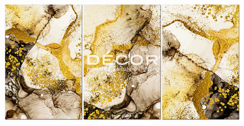 Gold Abstract - Art Print