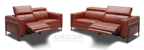 ITALY Power Recliner Leather Sofa
